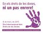 Manifest del PSC en motiu del#8deMarç